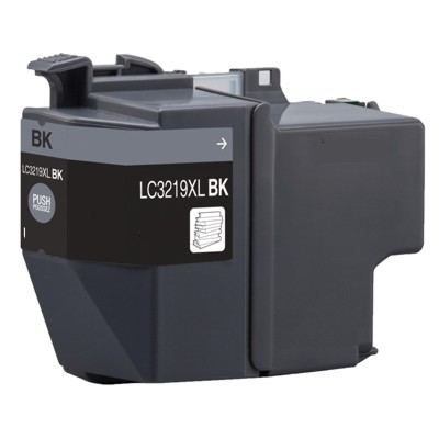 Tusz Zamiennik LC-3219 XL BK do Brother (LC-3219BK) (Czarny)
